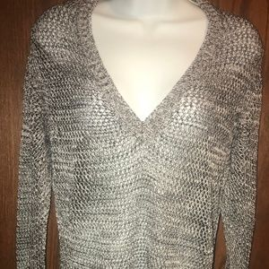 Chico's Size 3 Mesh Sweater